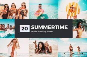 20 Summertime Lightroom Presets and LUTs 5200538 1