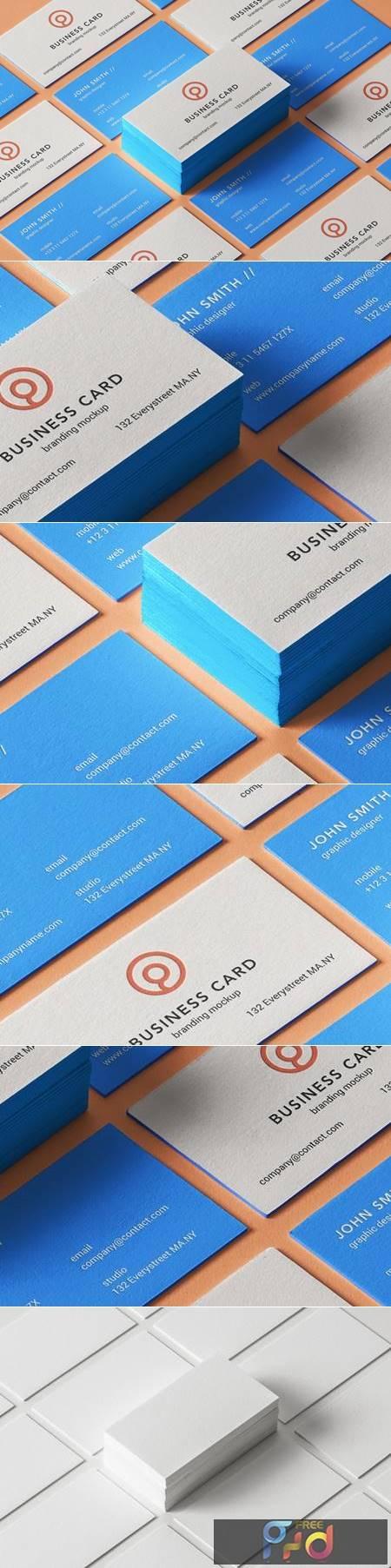 Psd Business Card Branding Mockup 7 1344 1