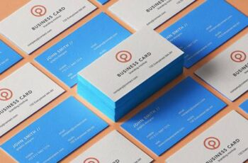 Psd Business Card Branding Mockup 7 1344 7