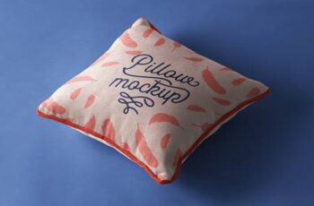 Psd Pillow Mockup Presentation Vol 4 1341 5