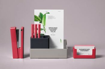 Psd Stationery Office Pack Mockup Vol 2 1336 2