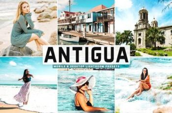 Antigua Mobile & Desktop Lightroom Presets 5206427 2