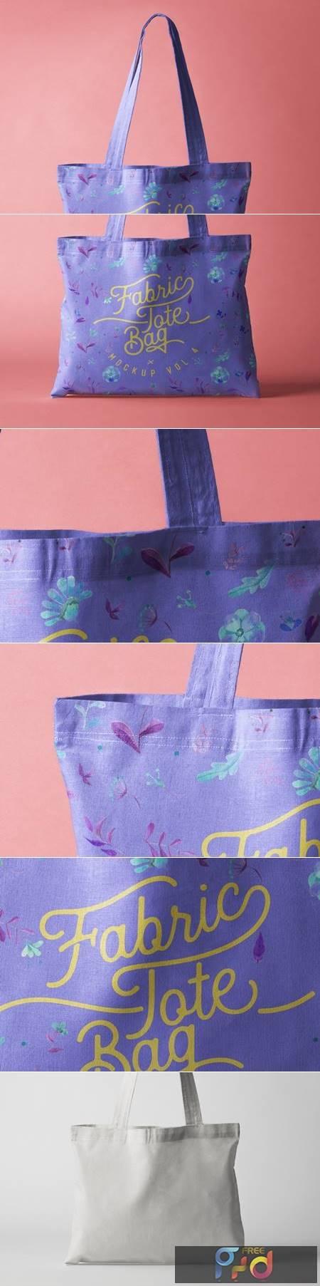 Psd Tote Bag Fabric Mockup Vol 4 1342 1