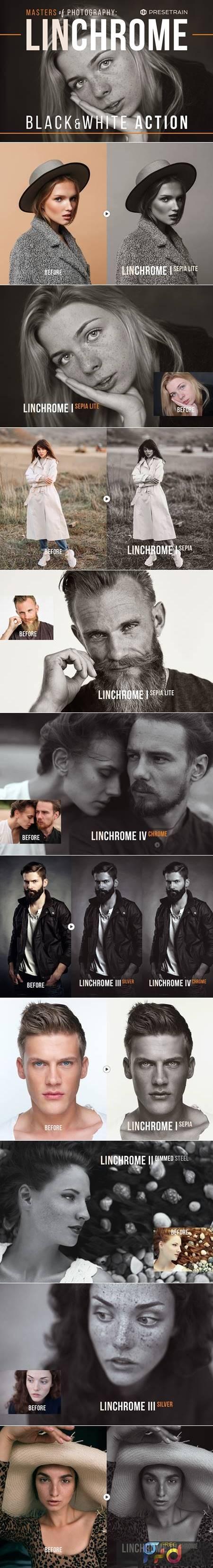Linchrome Black & White Action +LUT 5199067 1