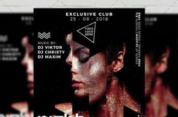 Under My Skin Night Flyer - Club A5 Template 20242 3