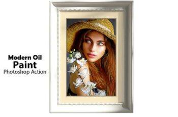 Modern Oil Paint Photoshop Action 5177811 11