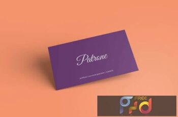 Business Card Mockup V4 6D4EF4M 6