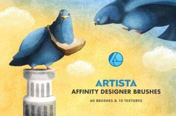 Artista Affinity Designer Brushes 5161011 14