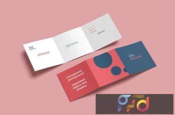 Square Triold Brochure Mockups Set N2JURVR 3