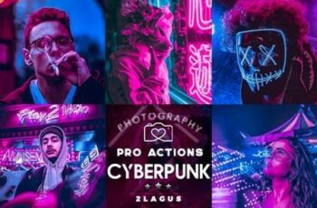 Cyberpunk - Life Styles Photoshop Action 26583405 5
