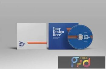 CD Cardboard Jewel Case Mockup JCH8URY 7