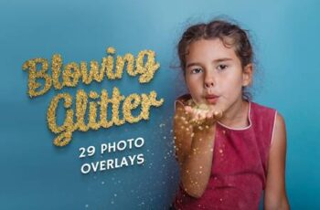 29 Blowing Glitter Photo Overlays 5224211 4