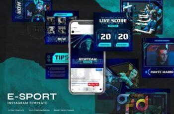 ESport & Gaming Instagram Template V.06 FF86C8Z 4