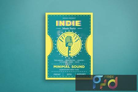 Indie Music Party D6DBZKW 1