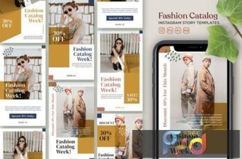 Instagram Story Template Vol.22 Fashion Catalogue 5MY7XXD 7