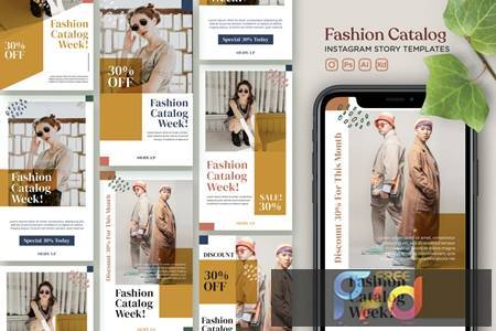 Instagram Story Template Vol.22 Fashion Catalogue 5MY7XXD 1