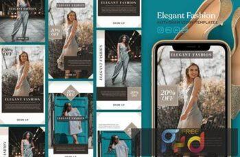 Instagram Story Template Vol.23 Elegant Fashion G38U6KQ 6