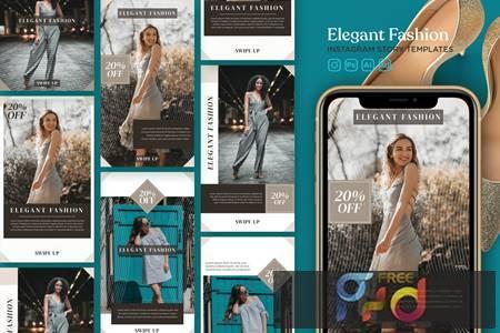 Instagram Story Template Vol.23 Elegant Fashion G38U6KQ 1