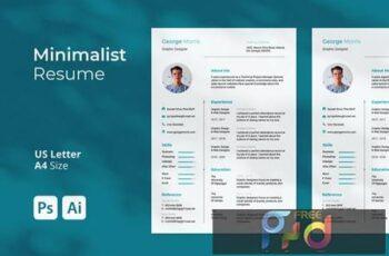 Minimalist Resume BYH9SRP 4