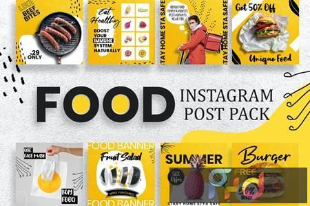 Restaurant Instagram Post Template HNAXS6G 1