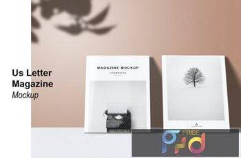 Us Letter - Cover Magazine Mockup 7FRMNXL 5
