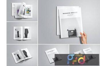 Us Letter magazine Mockup AGXDGEW 4