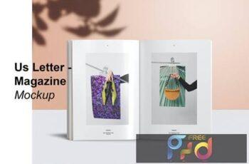 Us Letter magazine Mockup ACMYL5A 3