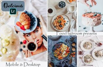 Food Blogger Mobile & Desktop Lightroom Presets 3806891 1