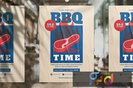 BBQ Promotion Flyer XFVDVBV 1