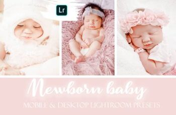 Newborn Baby Mobile & Desktop Lightroom Presets 3806893 2