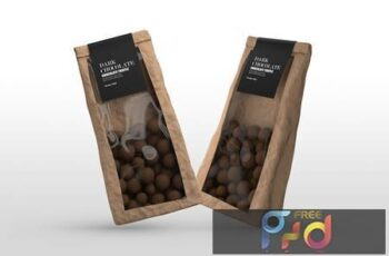 Chocolate Packet Mockups B2U9747 11