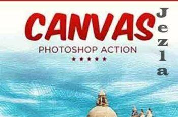 Canvas Photoshop Action 26543158 5