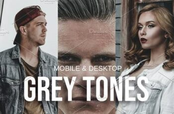 GREY TONES Lightroom Presets 5115218 1