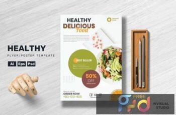 Healthy Food - Flyer Template AH7KVRM 6