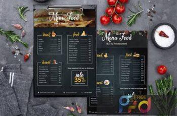 Restaurant- Fast Food - Menu Template QEA6UXW 15