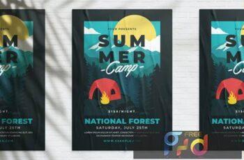 Summer Camp Poster 4YMLSND 4