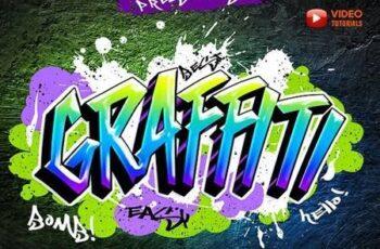 Graffiti Text Effects 27541101 8