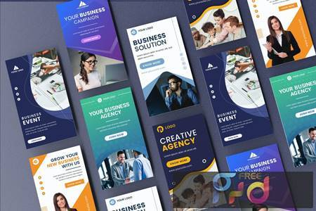 Business Instagram Stories Banner Template SVCJYBY 1