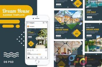 House Banner Instagram Stories Templates 8MK3TKC 9