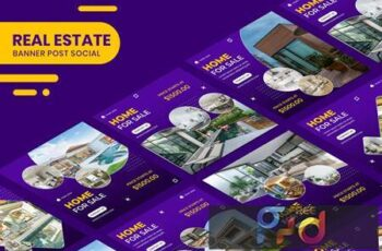 Real Estate Banner Instagram Stories Templates VERXT2Y 4