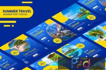 Travel Banner Instagram Stories Template 4DKVN9K 6