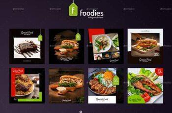 Foodie - 8 Instagram Template 26507986 7