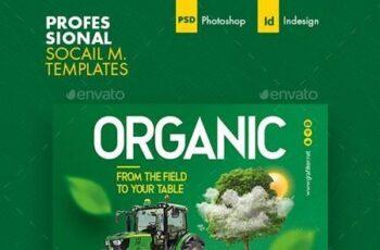 Organic Farming Social Media Templates 26498667 3