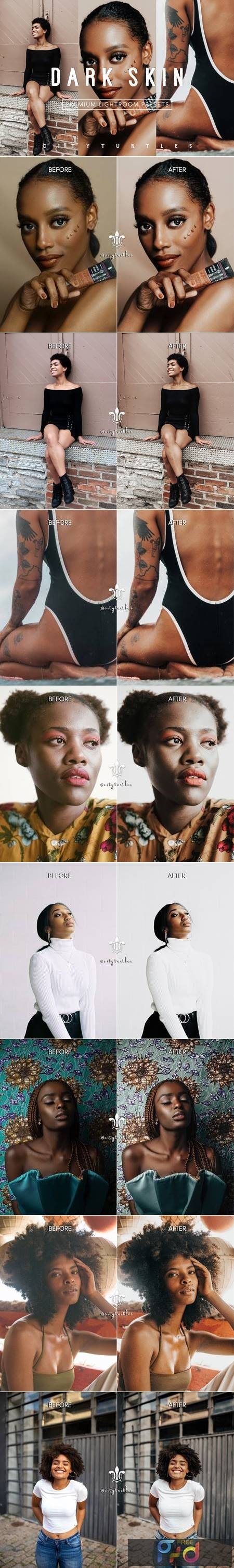 Minimal DARK SKIN Lightroom Presets 5155821 1