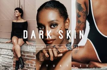 Minimal DARK SKIN Lightroom Presets 5155821 3