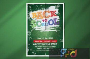 Back to School Flyer Template N5BFMZN 8