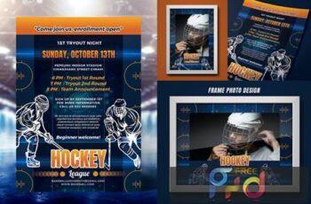 Ice Hockey Tryout Flyer XJ4SWMC 4