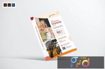 Summer Promotional Flyer Design UYQUVFE 5