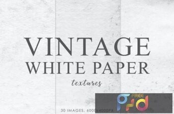 White Vintage Paper Textures BHZ58Y3 16