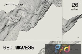 GEO_WAVES5 Vector Pack AFU27MB 6